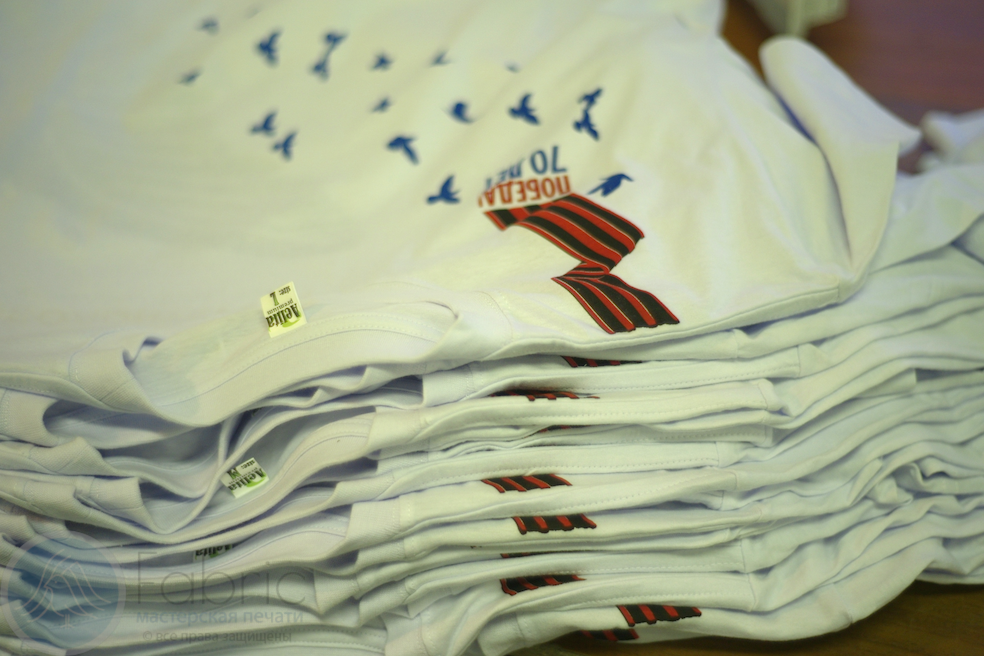 футболки для волонтеров