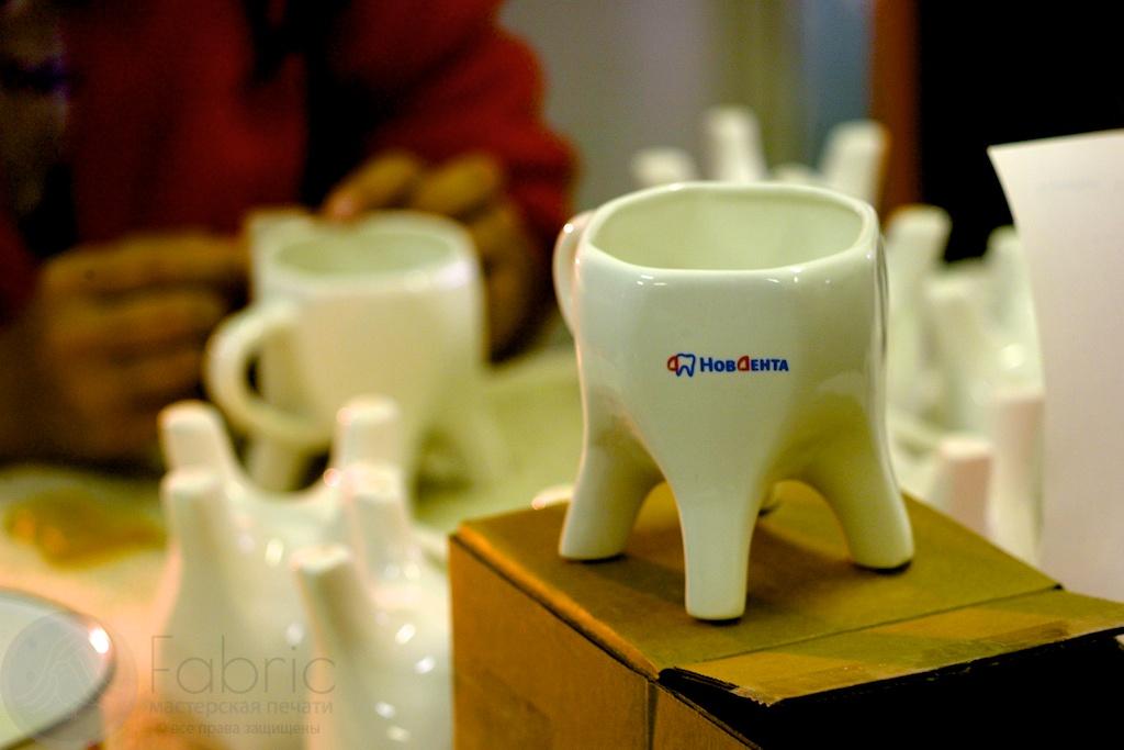 кружка зуб