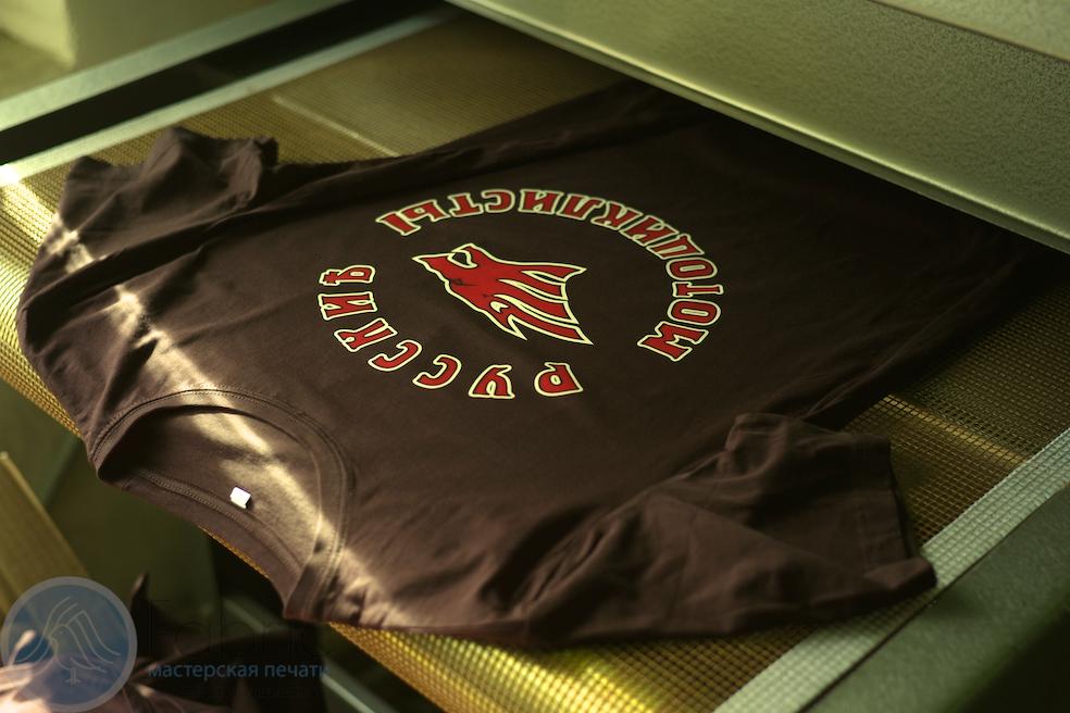 """футболки для легендарного байк движения """"Ночные Волки"""""""
